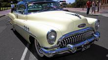 The Buick Super was big and bold and beautiful. Note the massive chrome grille. (GM/GM)