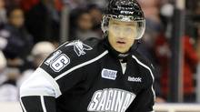 Terry Trafford of the Saginaw Spirit. (Aaron Bell/OHL Images)