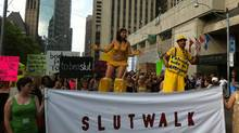 A photo of the Toronto Slutwalk