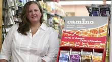 Jennifer Williams, chief executive officer of La Siembra Co-operative Inc., creator of Camino line of premium fair trade and organic chocolate bars (DAVE CHAN FOR THE GLOBE AND MAIL)