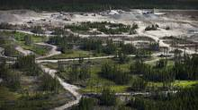 The site of the Detour Gold mine project near Cochrane, Ont. (Moe Doiron/Moe Doiron/The Globe and Mail)