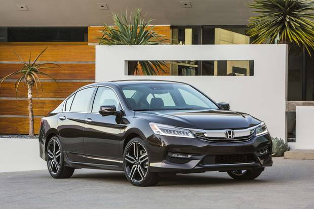 2017 Honda Accord Touring.