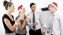 Christmas at the office. (iStockphoto/iStockphoto)