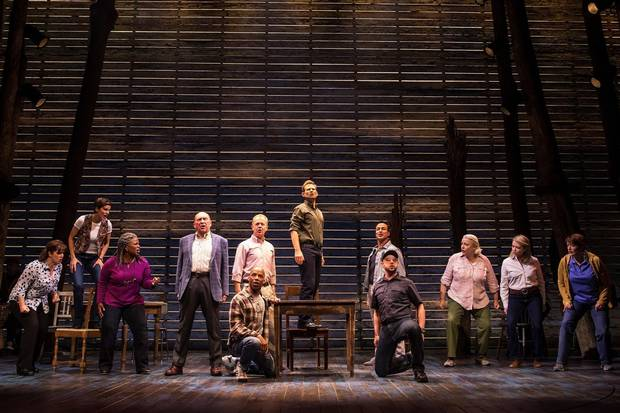It's way too early to talk about Come from Away's prospects at the Tony Awards in June – but let's do it anyway.