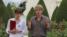 "Carla Bruni and Owen Wilson in a scene from Woody Allen's ""Midnight in Paris"" (Roger Arpajou/Mediapro)"