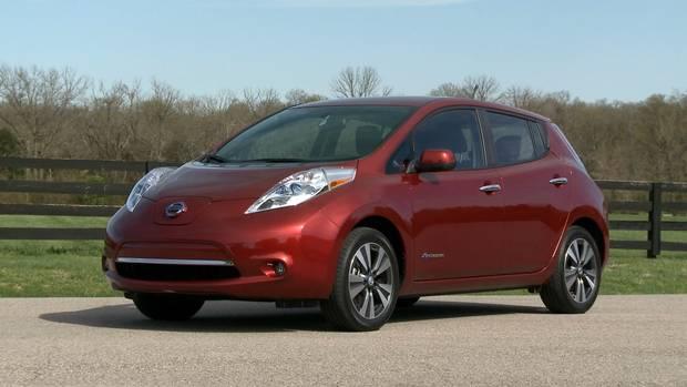 2017 Nissan Leaf SV.