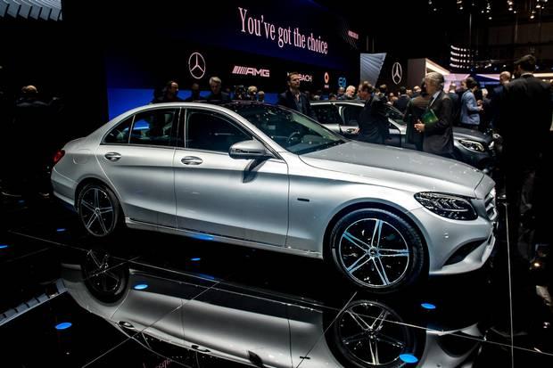 Mercedes-Benz C-Class Diesel Plug-In Hybrid.