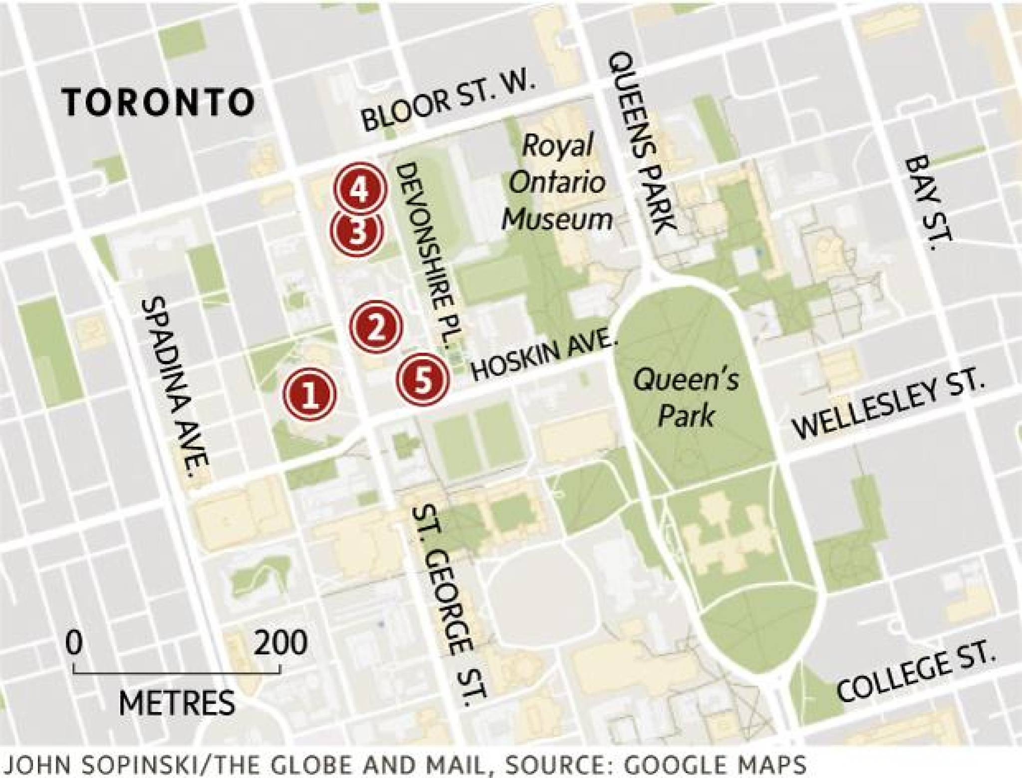 U O F T Campus Map.The University Of Toronto May Have The Best Architecture In The City