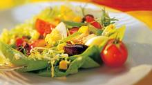 This recipe for salade nicoise has its name from a French phrase that means 'as prepared in Nice,' typifying the cuisine found in and around that French Riviera city. (CP)