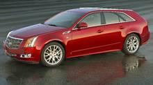 2010 Cadillac CTS Sport Wagon. (GM/GENERAL MOTORS)