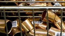 Copper plumbing fittings. (Daniel Acker/Bloomberg)