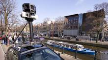 A Google Street View camera in Amsterdam (TOUSSAINT KLUITERS/2009 AFP)