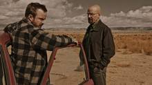 Scene from Breaking Bad TV show.