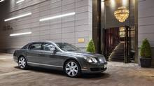 At the Rosewood Hotel Georgia, guests can use a Bentley to get about town. (Ed White Photographics)