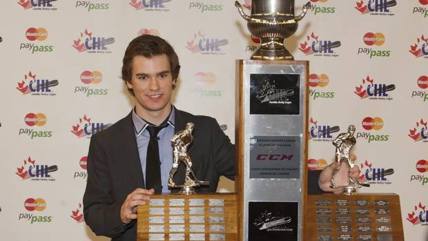 CHL: Mooseheads Forward Jonathan Drouin Named Player Of The Year