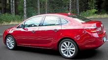 2012 Buick Verano (Ted Laturnus for The Globe and Mail)