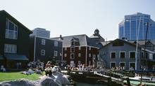 Downtown Halifax. After almost 30 years, the Atlantic Provinces saw a positive interprovincial migration in 2009 and again in 2010. (Getty Images)