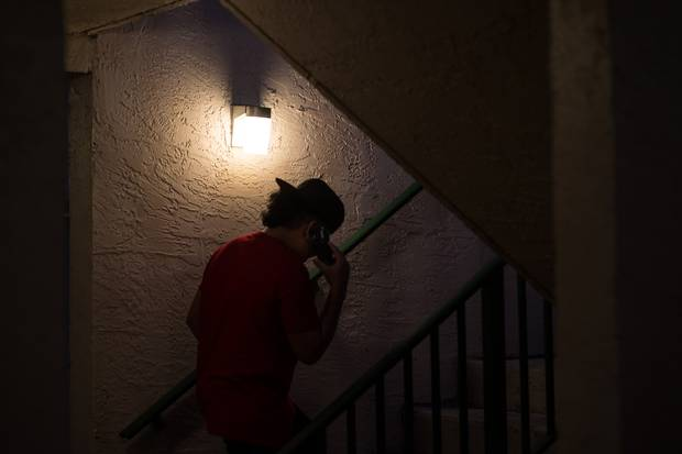 Four years ago in El Salvador, Fernando got threatening late-night phone calls from gangs.