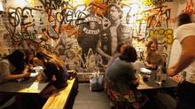 Old-school La Carnita restaurant at 501 College Street in Toronto on July 19, 2012. (Deborah Baic/The Globe and Mail)