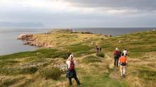 On the Cabot Trail in Cape Breton, N.S. (Wally Hayes/Nova Scotia Tourism)