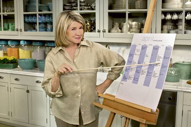 Martha Stewart made us care about closet organization and preparing the 'perfect' Shaker picnic basket