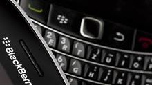 Research In Motion is launching an updated version of its software that allows businesses and government departments to handle a variety of smartphones in addition to BlackBerrys. (VALENTIN FLAURAUD/REUTERS)