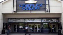 A Cineplex Odeon is pictured in North Vancouver, B.C. Tuesday, May 15, 2012. (JONATHAN HAYWARD/The Canadian Press)