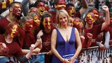 British author J.K. Rowling arrives for the world premiere of Harry Potter and the Half Blood Prince at Leicester Square in London July 7, 2009. (Reuters)