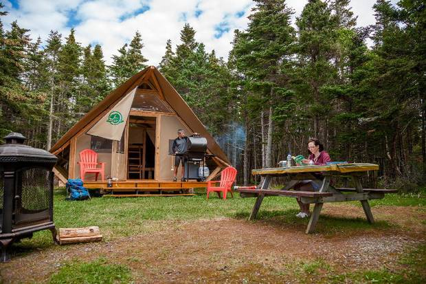 Since opening its first tent-cabin hybrid in Jasper in 2012, Parks Canada has rolled out more than 250 oTENTiks across the country.