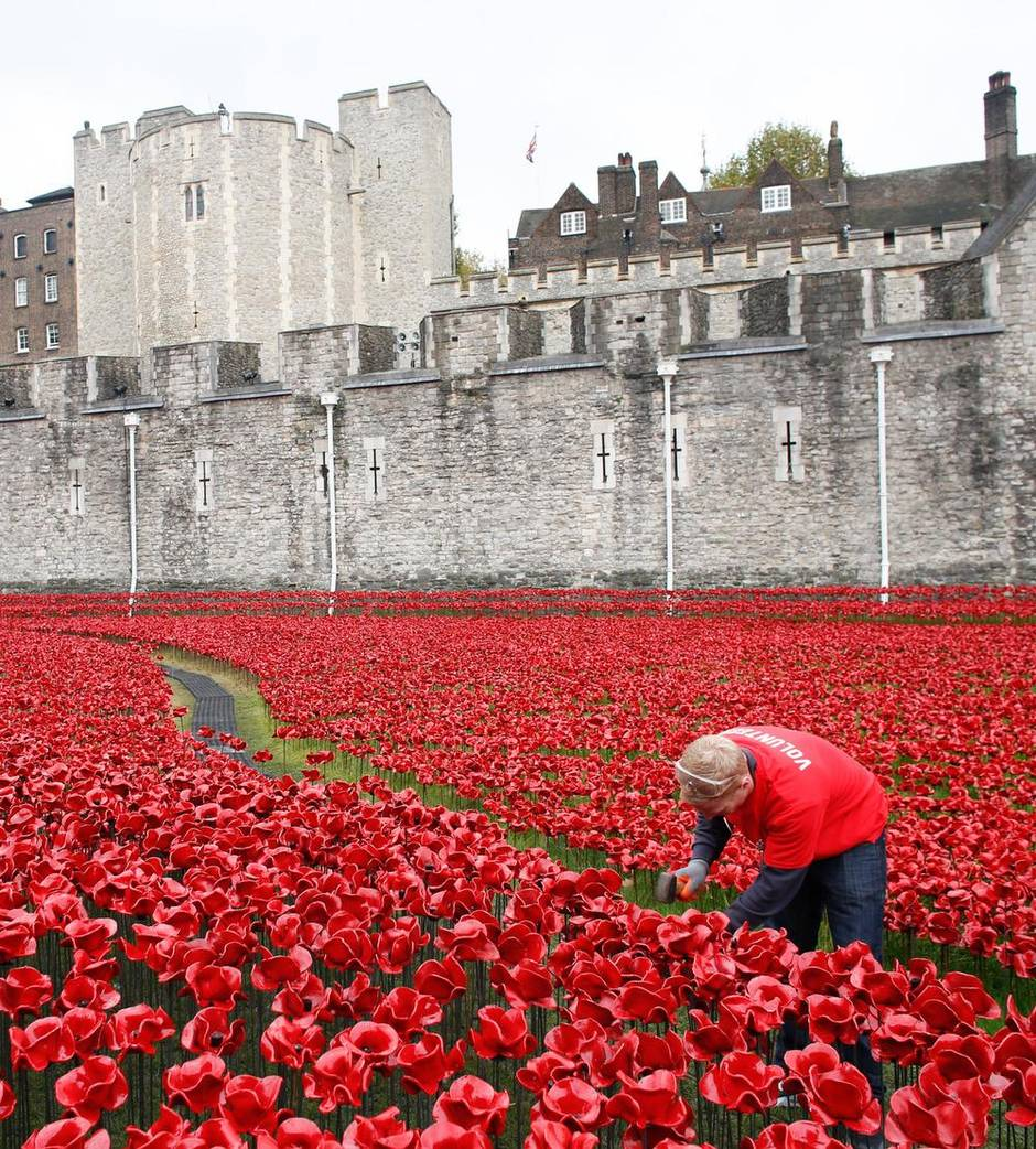 why london u0027s poppy memorial is so touching the globe and mail