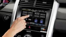 Users found the MyFord Touch system difficult to use at first. (Ford)