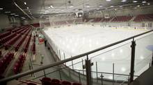 An empty hockey arena is seen in this file photo. (Kevin Van Paassen/The Globe and Mail)