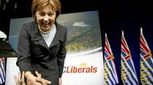 Premier designate Christy Clark at a the B.C. Liberal Convention in Vancouver after winning the Liberal Leadership election February 26, 2011. (John Lehmann/The Globe and Mail/John Lehmann/The Globe and Mail)