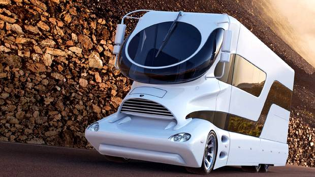 Marchi Mobile's ultra-futuristic eleMMent palazzo starts at $1.9-million. (Marchi Mobile)