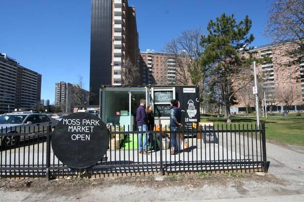 Darcy Higgins, Lisa Kates, Alex Chak at Urban Roots, Moss Park, Toronto