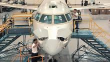 Bombardier CRJ Facility, Mirabel, Quebec. (Handout)
