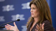 Health Minister Rona Ambrose speaks in Calgary on Aug. 18, 2013. (CHRIS BOLIN FOR THE GLOBE AND MAIL)