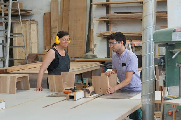Some of Canada's top modern-furniture makers have opened their studios to the public, offering workshops for amateurs.