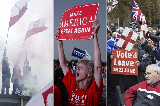 From Warsaw to Florida to London, nativist politics has been on the rise in recent years – and it is this, more than economic insecurity, that accounts for voters' shift to populist leaders like U.S. President Donald Trump.