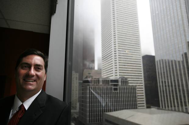 A 2008 photo of Avison Young's Mark Rose in Toronto.