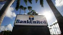 Wall Street's valuations for BankUnited will likely rise if the company successfully moves past its government loan guarantees. (Eliot J. Schechter/Bloomberg)