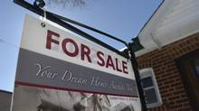 If rates only rise by 1 percentage point by the end of 2016 (while incomes are still assumed to rise by 3 per cent)? Affordability would level off, and there could be room for home prices to grow.. (Fred Lum/Fred Lum/The Globe and Mail)