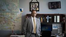 Richard Rosenthal, chief civilian director of the Independent Investigations Office, at his office in Surrey, B.C., on August 22, 2012. (Rafal Gerszak for The Globe and Mail)