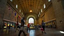 Toronto Councillor Denzil Minnan-Wong wants to rename Union Station after Canada's first prime minister, Sir John A. Macdonald. (Galit Rodan/The Globe and Mail)