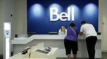 Bell store at Rideau Centre in Ottawa Aug. 12, 2010. (Blair Gable For The Globe and Mail)