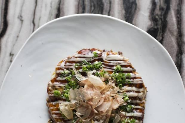Okonomiyaki at Seorak.