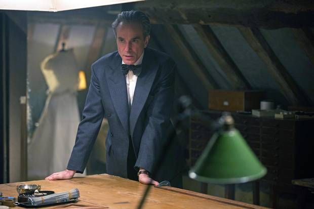 Daniel Day-Lewis stars as Reynolds Woodcock in Phantom Thread.