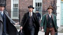 Matthew Macfadyen, Jerome Flynn and Adam Rothenberg star in the excellent Brit detective drama in Ripper Street. (JONATHAN HESSION/NYT)