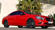 2014 Mercedes-Benz CLA (Michael Bettencourt for The Globe and Mail)