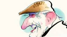 Prince Philip illustration (Anthony Jenkins/The Globe and Mail)